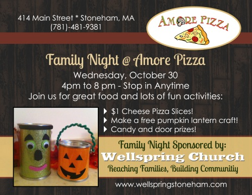Oct family night 2013