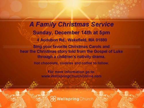 Christmas Service Invite 2