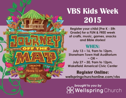 VBS Postcard purple